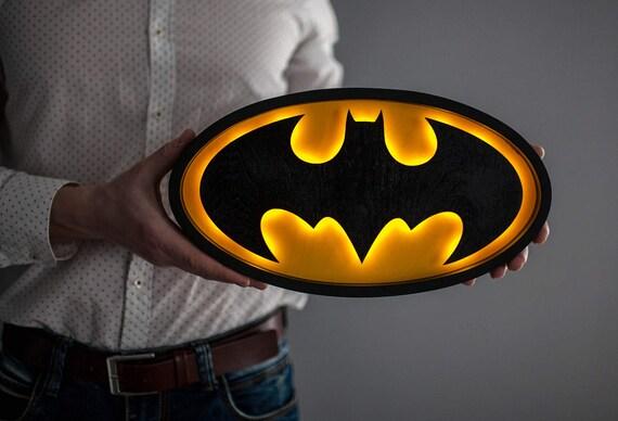 Batman batman night light gift for men batman gift idea aloadofball Images
