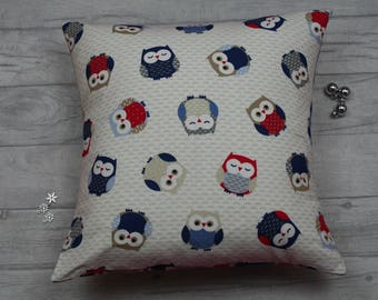 Owl Cushion , Owl Pillow , Owl