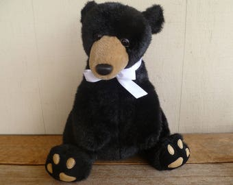 Adorable Plush Teddy Bear   Plush Creations   Soft!   1988