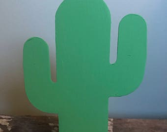 Cactus Metal Decor- Medium