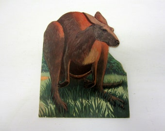 Vintage Children's Book Kankie Kangaroo Who Couldn't Hop 1945