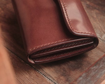 Leather wallet mini 01