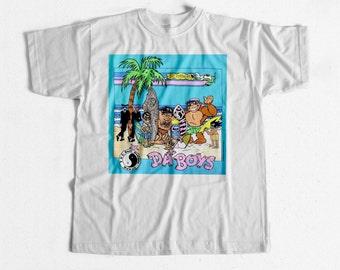 Vintage Surf T-shirt T&c Da Boys 80s