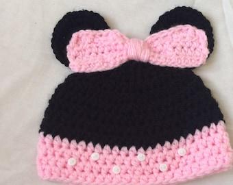 6-12 months minnie hat