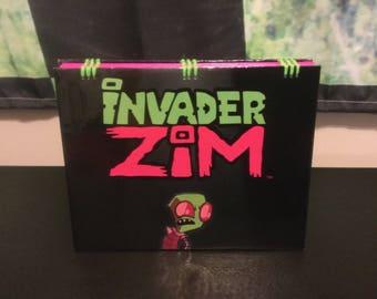 Invader Zim Blank Notebook Sketchbook Journal