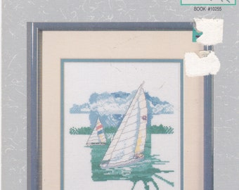 Sailing Cross Stitch Chart by Paul Brent