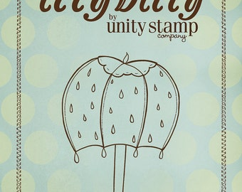 Clearance - Unity - Ippity Stamps - Raining Happy