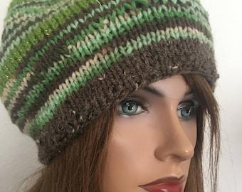 Hand Knits 2 Love Beanie Slouch Hat Cap Female  Camouflage Pom Pom Desihner Fashion Hip Trend Chemo Wintet Snow Ski Snowboard