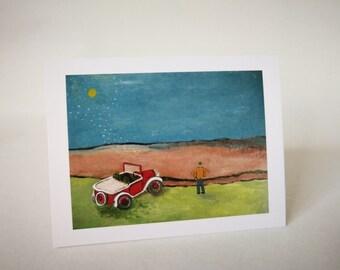 Jalopy - Greeting Card