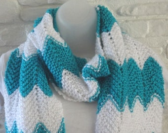 Soft Ripple Knit Scarf Ready to Be Shipped