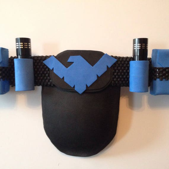 Nightwing inspired belt for cosplay or just for show. 1RTkT