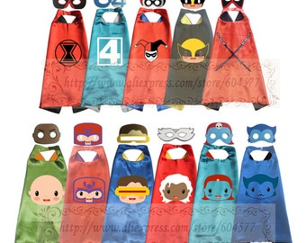 Superhero capes and felt masks series 2  (Special order only)