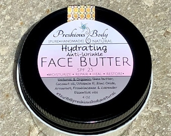 Hydrating, Anti Wrinkle Face Butter SPF 25