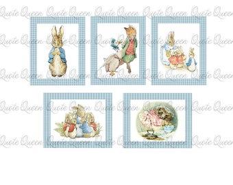 Beatrix Potter set of Prints