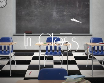 Classroom Digital Background - Back to school