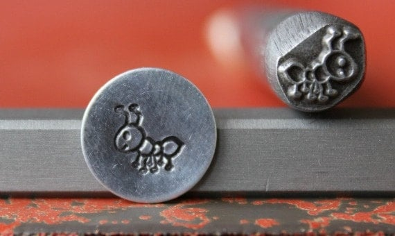 Ant Metal Design Stamp Metal Stamp Metal Stamping and Jewelry