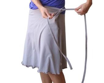 Summer skirt, Womens skirt, Plus size skirt, Plus size womens skirt, Wrap around a line skirt, Made to order aline skirt, Knee length skirt