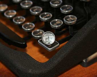 Libra Typewriter Key Pin