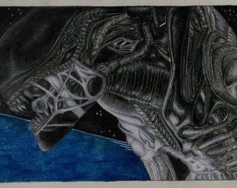 Alien Isolation Print