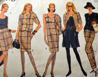 Vintage Sewing Pattern Vogue 2883 Misses' Separates Size 12-14-16 Bust 34-36-38 inches Complete