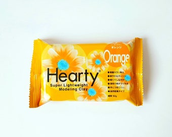 HEARTY 50 g ORANGE to create flowers decorations jewelry
