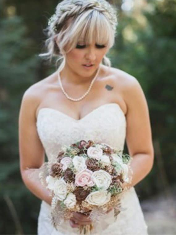 wedding bouquets for brides alternative bridal bouquet luxe collection sola flowers 8509