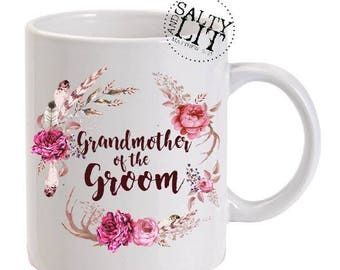 GrandMother of the Groom Mug,Mother of the Groom,Coffee Mug,Mother of the Groom Gift,Gift for GrandMother of the Groom,Mug,grandmother gift