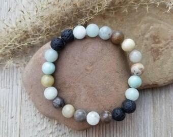 Diffuser Bracelet Essential Oil Bracelet Essential Oil Diffuser Bracelet Healing Bracelet Lava Stone Bracelet