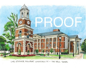 Christopher Newport University - The Bell Tower AVAILABLE NOV 1, 2014