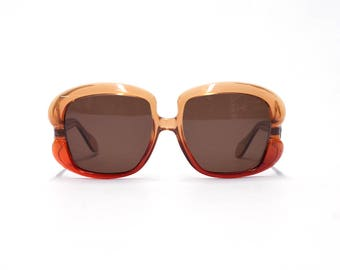 Oversized Vintage Sunglasses - ANGLO AMERICAN OPTICAL -  70s new old stock sunglasses with new lenses.