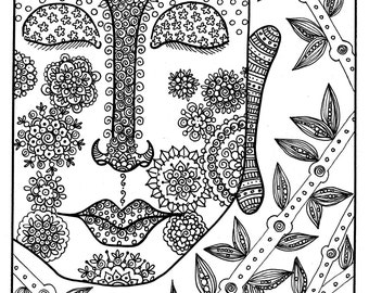 Zen out Coloring this Buddha coloring page will bring you peace and relaxation