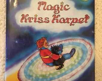 The Magic Kriss Karpet by K K Corner, Childrens Christmas Book, Childrens Book, Vintage Childrens Book, Signed by Author