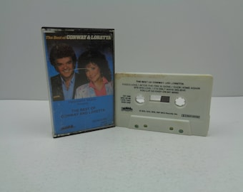 The Best Of Conway And Loretta Cassette