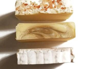 Grapefruit Soap Samples, Soap Sample, Peppermint Soap, Salt Soap, Sample Soap, Lemongrass Soap, Soap Sample Set, Soap Sampler, Sampler Set