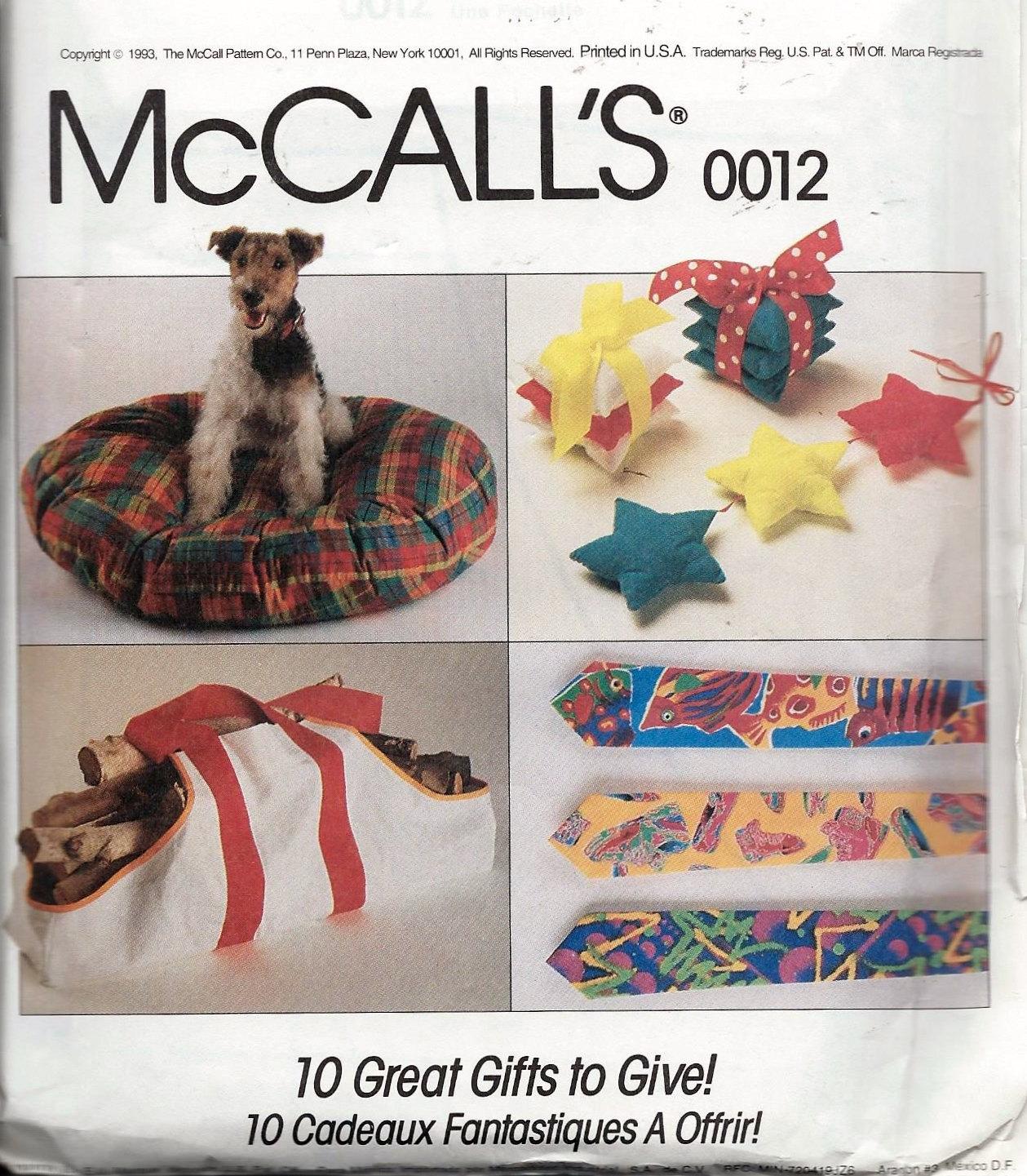 McCall Werbeartikel Muster 0012 Sampler Schürze Ball Cap Hund