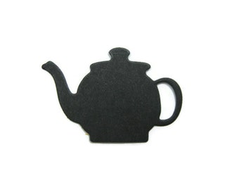 Tea Pot Paper Cut Outs Set of 30