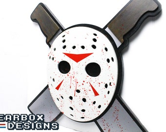 Jason Vorhees XL Wood Wall Art - Friday the 13th - Horror Art