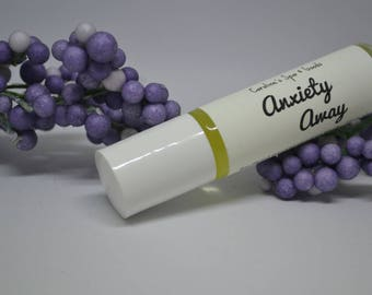 Anxiety Away Essential Oil Blend Roll On