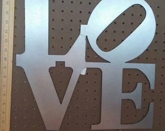 "16"" Love Sign"