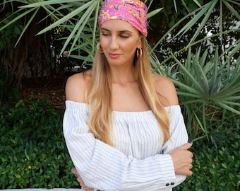 Yoga Headband / Fitness Headband / Workout Headband / Running Headband / turban / Top Selling Item / Boho Headband / Gift For Her