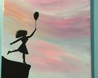 Girl with the balloon