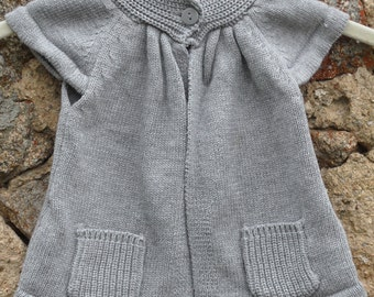 French, vintage knitted top for a child.
