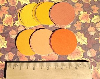 "2"" CARDSTOCK CIRCLE SALE -  50 - 2 Inch  Cardstock  Circles - Free Secondary Shipping"