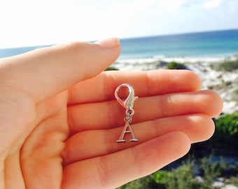 Initial Horse Bridle Charm