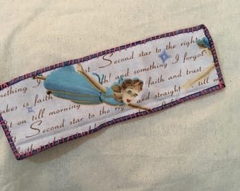Wendy of Peter Pan Hand-Stitched Bookmark