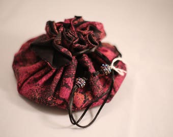 Jewellery Cinch in Varigated Pinks and Purple