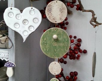 Ceramic Breeze Window Jewelry