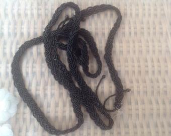 1920's original vintage rope belt