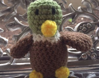 Amigurumi Mallard Duck