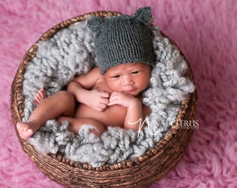 Newborn Hat Girl, Newborn Girl Outfit, Newborn Girl Hat, Newborn Photo Prop Girl Knit Newborn Hat Newborn Girl Photo Prop Newborn Props Girl